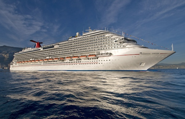 The 130,000-ton Carnival Dream, Carnival Cruise Lines'€™ largest ship, will be sailing from Port Canaveral year-round. Photo by Andy Newman/Carnival Cruise Lines/HO