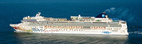 Aerial Norwegian Gem