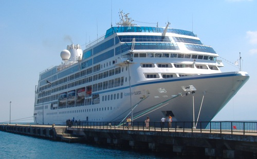 "The two-ship, Azamara Cruises fleet will be offering a host of European port calls in 2010. <em/>Azamara Quest is seen here at anchor in Sinop, Turkey. Image courtesy Michael Coleman"" title=""azamara-quest-docked-in-turkey"" width=""500″ height=""310″ class=""size-full wp-image-1787″ /><figcaption id="