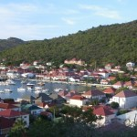 Port Pic: Gustavia, St. Bart's at sunset