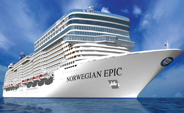 The Norwegian Epic may not be to everyone's taste from the outside, but it's what's inside that matters. Rendering and video (below) courtesy of NCL