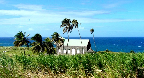 St. John's Anglican Church, St. Kitts.