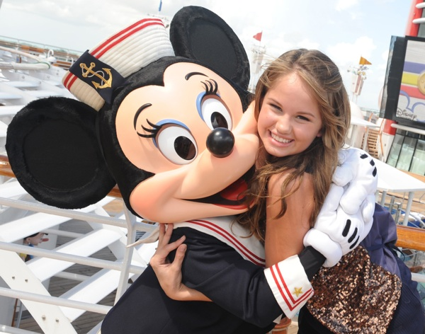 Disney Channel stars will mingle with fans onboard the Disney Wonder this summer during Disney Channel Summer at Sea. The stars will help pump up the volume during onboard deck parties, join guests for autograph sessions and previews of Disney Channel programming. Photo courtesy of Disney Cruise Line