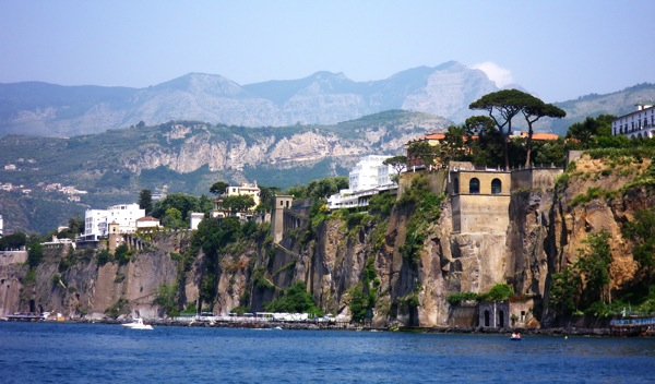 Sorrento, Italy, basks in the early morning sunlight, Monday, May 18, 2009. Photo by Michael Coleman