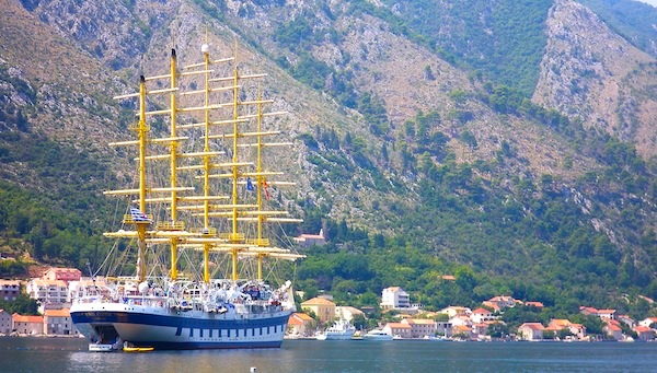 Royal Clipper, one of three ships in the Star Clipper's fleet, will spend the summer months of 2010 in Italy, Croatia, Greece and Montenegro. Photo by Michael Coleman