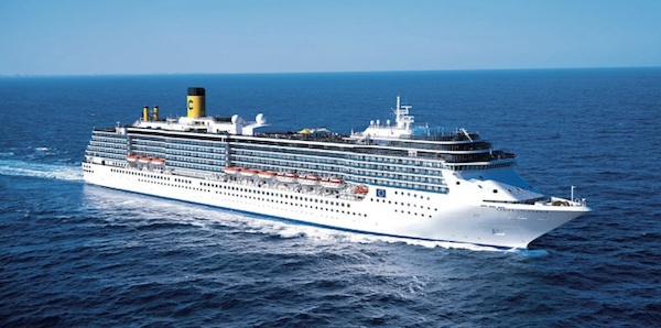 The 2,114-passenger Costa Atlantica is offering a host of seven-night Caribbean voyages roundtrip from Ft. Lauderdale this winter. Image courtesy of Costa Cruises