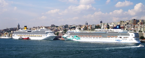 In Port Today: Two in Turkey