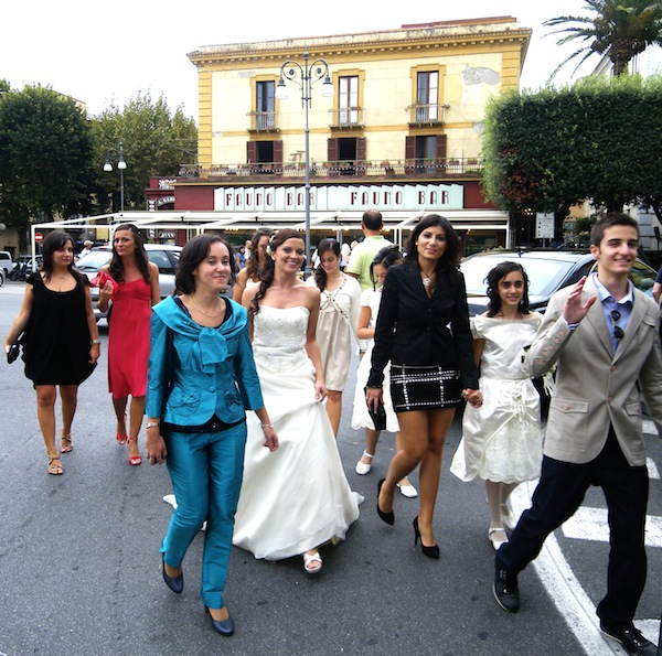 Port Postcard: An Italian wedding
