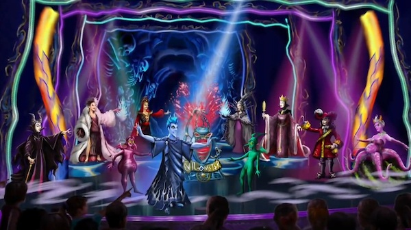 disney villains show