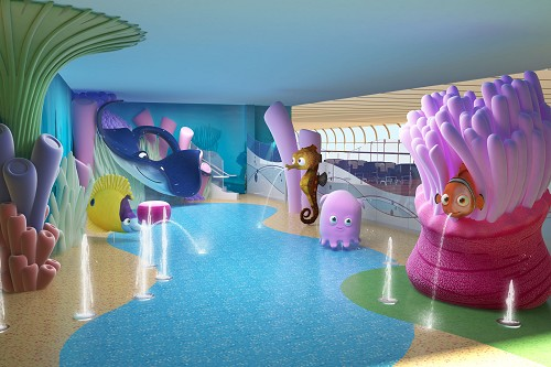 Details on Disney Dream's sports and water decks