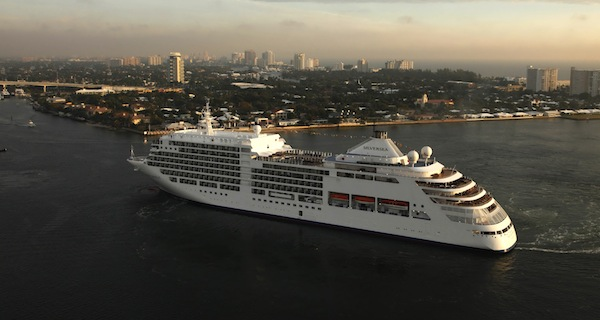 Silversea christens Silver Spirit at Port Everglades