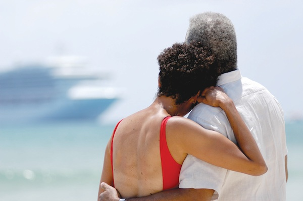Cruising offers the ultimate in romance