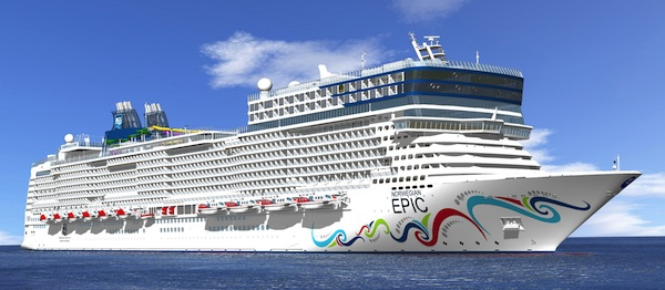 Launching this summer, Norwegian Epic will offer many firsts at sea