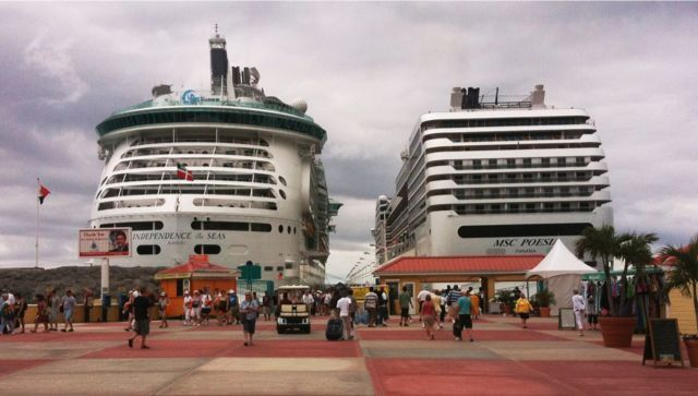 In Port Today: Two in St. Maarten