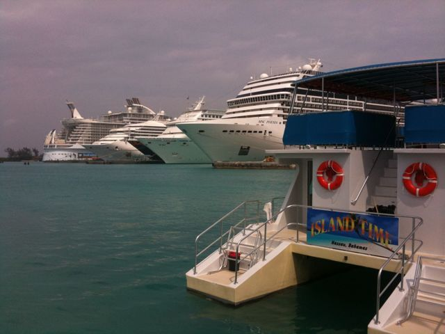 In Port Today: Five ships in Nassau, Bahamas