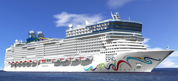 Follow us as we sail on NCL's 'Epic' new ship