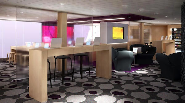 Celebrity iLounge will allow guests to use and purchase Apple products onboard