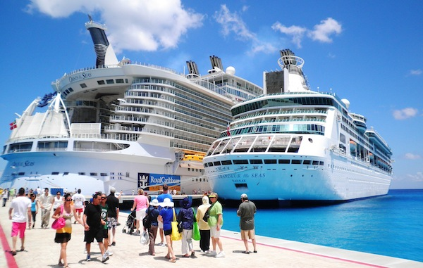 Onboard: Oasis makes maiden call on Cozumel