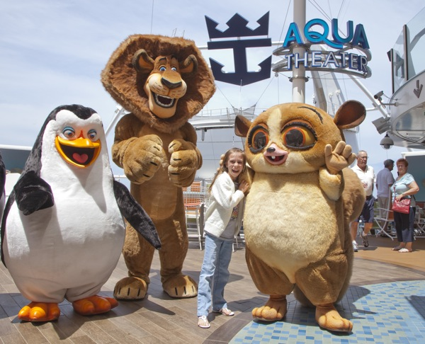 Shrek, Madagascar and other characters sailing soon on Royal Caribbean