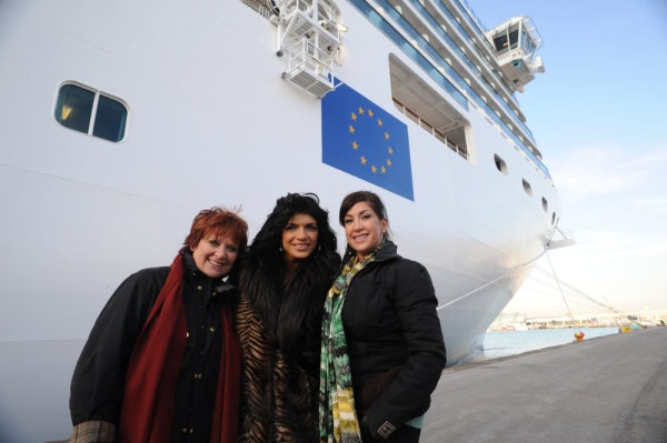 Real Housewives of New Jersey sail on the new Costa Deliziosa