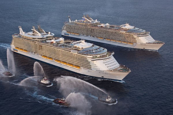 Follow us onboard the new world's largest cruise ship – Allure of the Seas