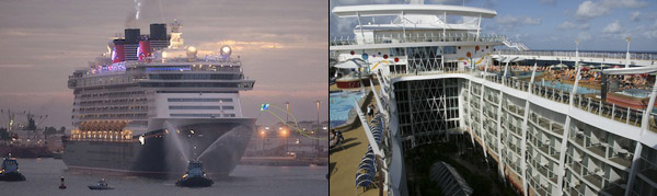 Follow us on the Disney Dream and Allure of the Seas this week