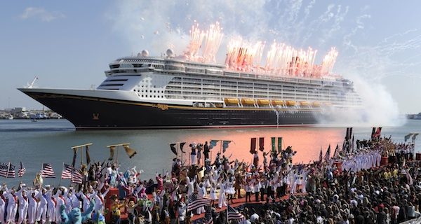 Disney Dream launches with fanfare and flair