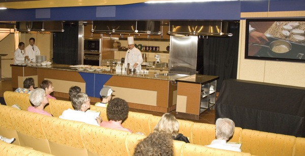Enjoy culinary arts classes with celebrity chefs on Holland America