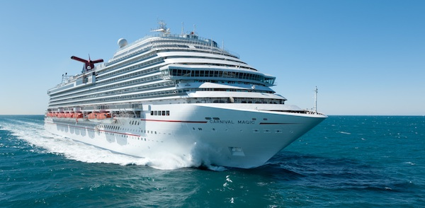 Follow us on the Carnival Magic during her inaugural cruise, May 1-10
