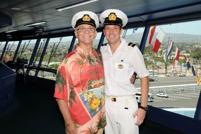 'The Love Boat' star meets Princess Cruises' own Gavin MacLeod