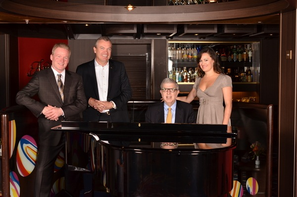 Holland America's ms Amsterdam played host to composer Marvin Hamlisch and the Seattle Symphony