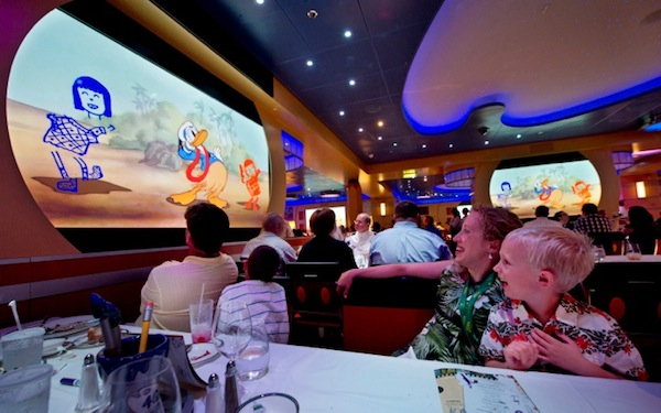 Animator's Palate courtesy of Disney Cruise Line