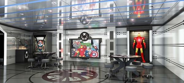 Marvel's Avengers Academy Photo Courtesy of Disney Cruise Line
