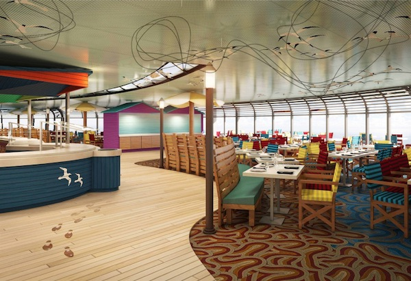 Cabanas Courtesy of Disney Cruise Line