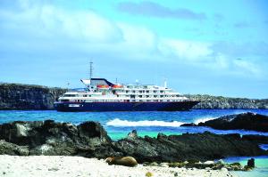 Silversea's Silver Galapagos Sets Sail